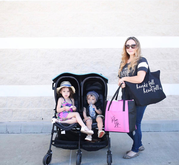 Love This Mom Life Grocery Tote Bag