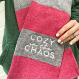 Cozy in the Chaos Winter Scarf [ships in 3-5 business days]