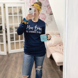 Mom Brain Long Sleeve Thermal [ships in 3-5 business days]