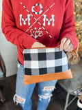 Buffalo Plaid Signature Wristlet [ships in 3-5 business days]