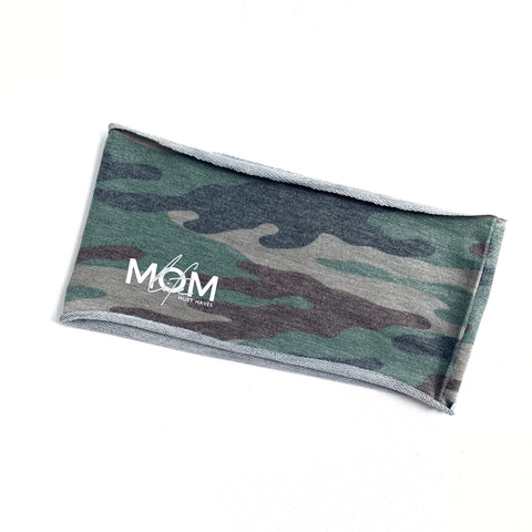 Brushed French Terry Headband - Camo [ships in 1-3 business days]