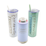 SEASCAPE GLITTER Permanently Exhausted Stainless Tumbler [ships in 3-5 business days]
