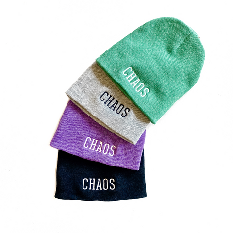 Chaos Crew Winter Beanie [Ships in 3-5 business days]
