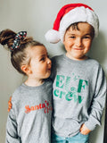 Kids Christmas Long Sleeve [Ships in 3 -7 business days]