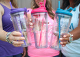 Aqua Surviving Motherhood 24oz Tumbler [ships in 2-4 business days]