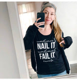 Nail It/Fail It Unisex Tank [ships in 3-5 business days]