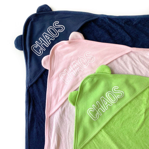 Chaos Hooded Towels [Ships in 3-5 business days]