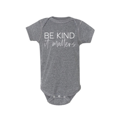 Be Kind It Matters Infant Bodysuit [ships in 3-5 business days]