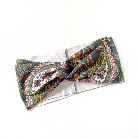 Forest Green Boho Women's Headband [ships in 3-5 business days]