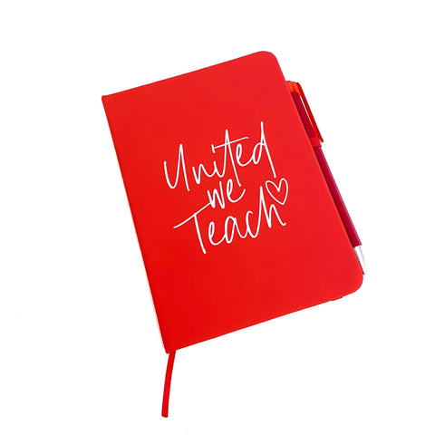 United we Teach Notebook + Pen Set [ships in 2-4 business days]