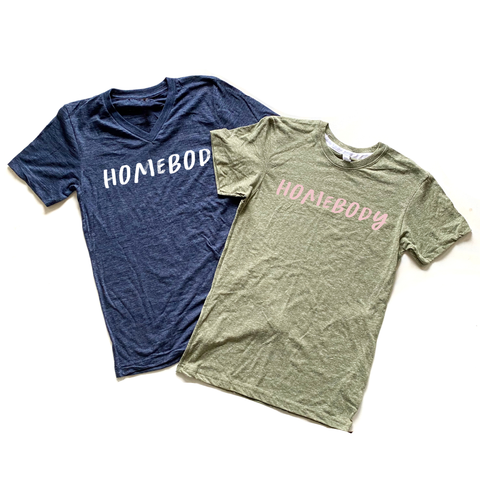 Homebody Unisex Tee [ships in 3-5 business days]