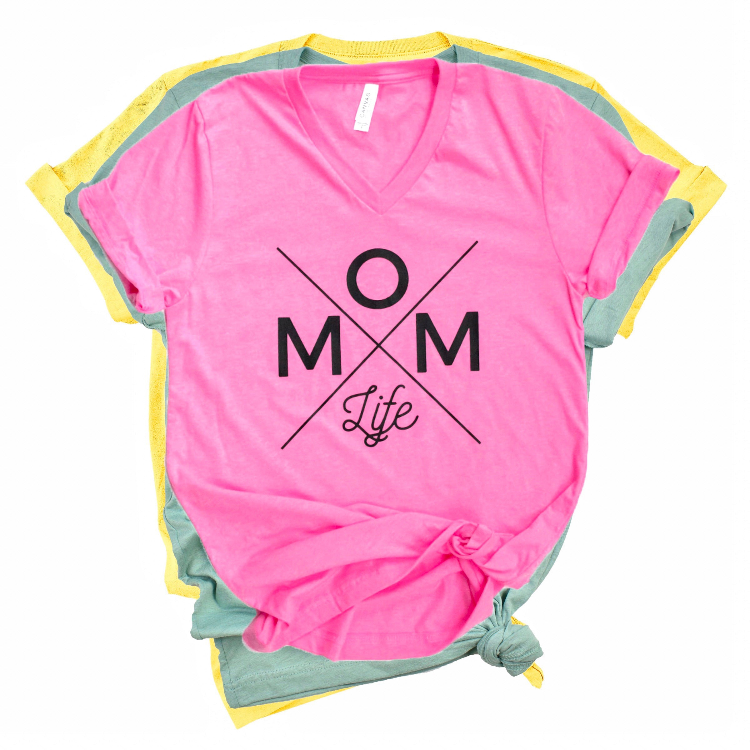 Mom Life Tee - Colors [ships in 3-5 business days]