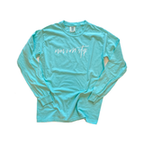 Mom Non Stop Mint Long Sleeve [Ships in 3-5 business days]