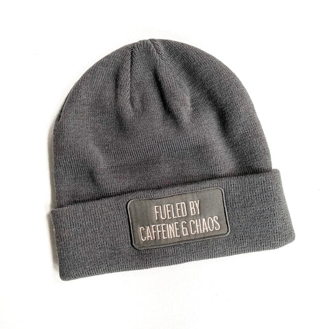 Fueled by Caffeine & Chaos Winter Beanie [ships in 3-5 business days]