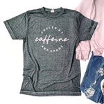 Fueled by Caffeine & Chaos Twilight Acid Wash Tee [ships in 3-5 business days]