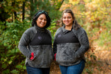 Fueled by Caffeine & Chaos Women's Fit Quilted Fleece [Ships in 3-5 business days]