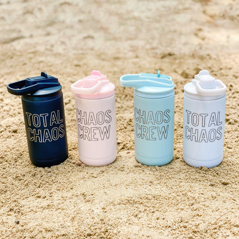 Chaos Crew 12oz Stainless Tumblers [ships in 3-5 business days]