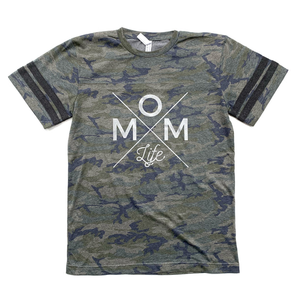 Mom Life Camo Tee [FINAL SALE NO EXCHANGES] ships in 3-5 business days
