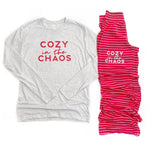 Cozy in the Chaos Lounge Pants [Ships in 3-5 business days]