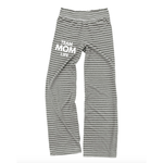 Team Mom Life Lounge Pants - Granite Gray [ships in 3-5 business days]
