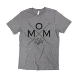 Mom Life Tee - Gray [ships in 3-5 business days]