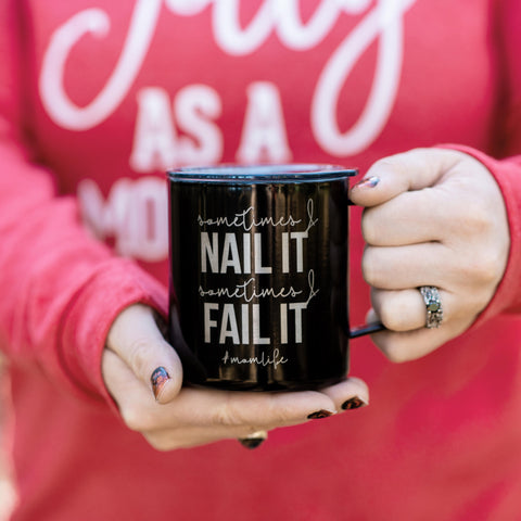 Nail it Fail it 14oz Stainless Tumbler [ships in 3-5 business days]