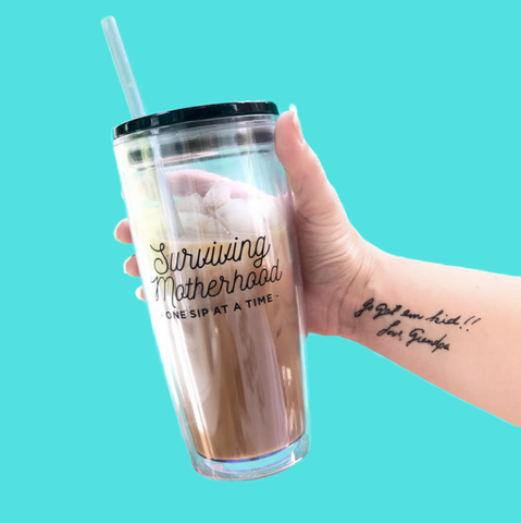 Surviving Motherhood 20oz Tumbler