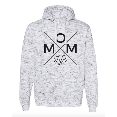 Mom Life Scuba Neck Hoodie - UNISEX FIT [Ships in 3-5 Business Days]