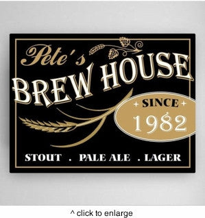 Brew House Canvas