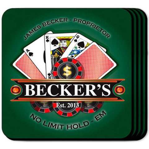 Coaster Set  - POKER