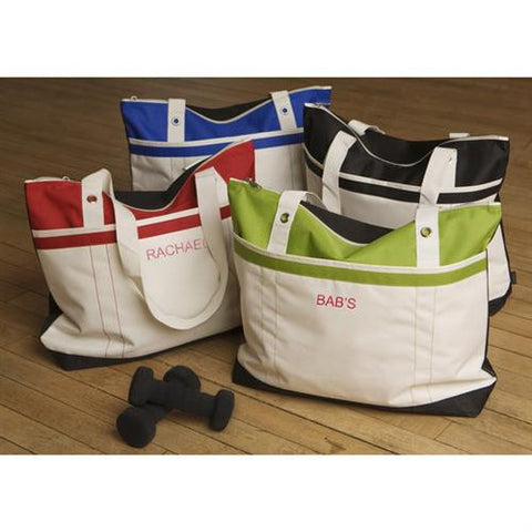 Fitness Fun Tote - Monogrammed Tote