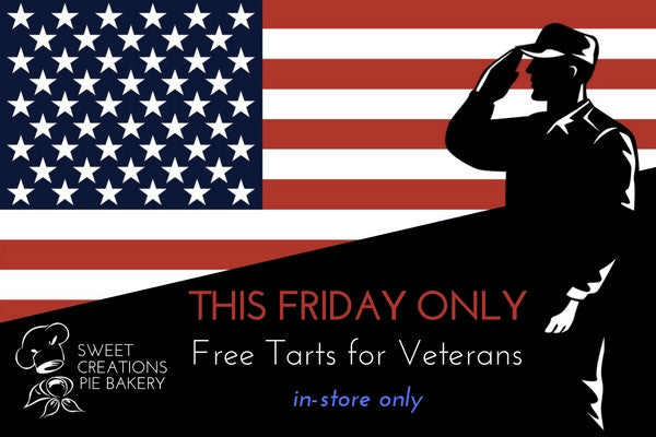 Check Out Today's Sweet Deal: Free Tarts For Veterans!