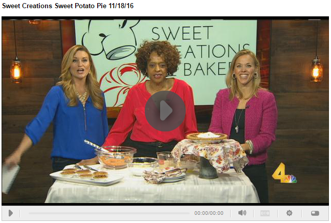 Sweet Creations Pie Bakery Appears On Today In Nashville