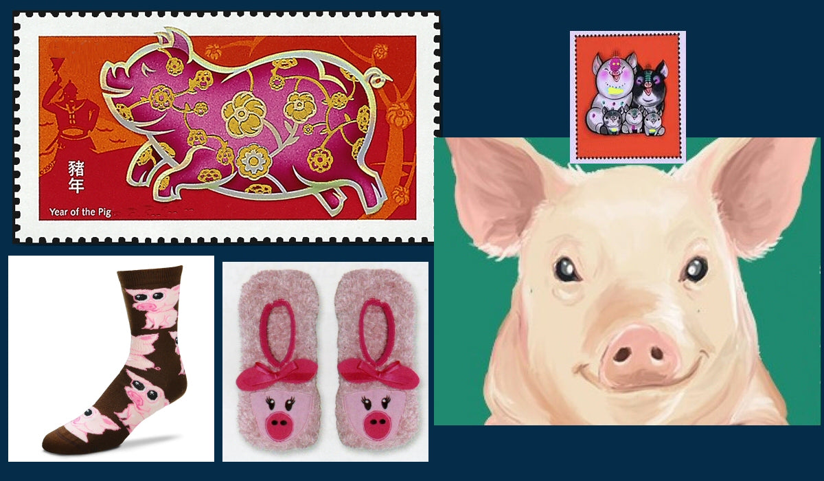Happy Chinese New Year - The Year of The Pig
