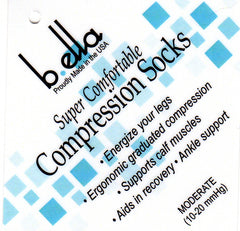 b ella Information on compression socks