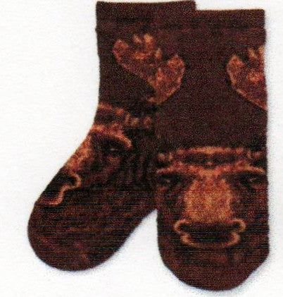 FBF Realistic Moose Children Socks