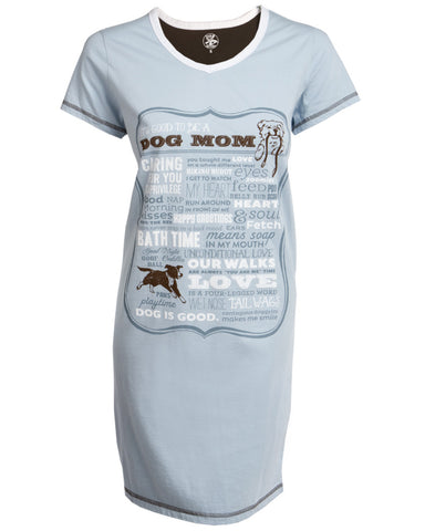 Dog is Good Dog Mom Sleep Shirt