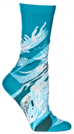 Ozone Four Elements Water Sock makes you hear the crashing of the waves at the top of the sock and then sends you to a cool inlet below.