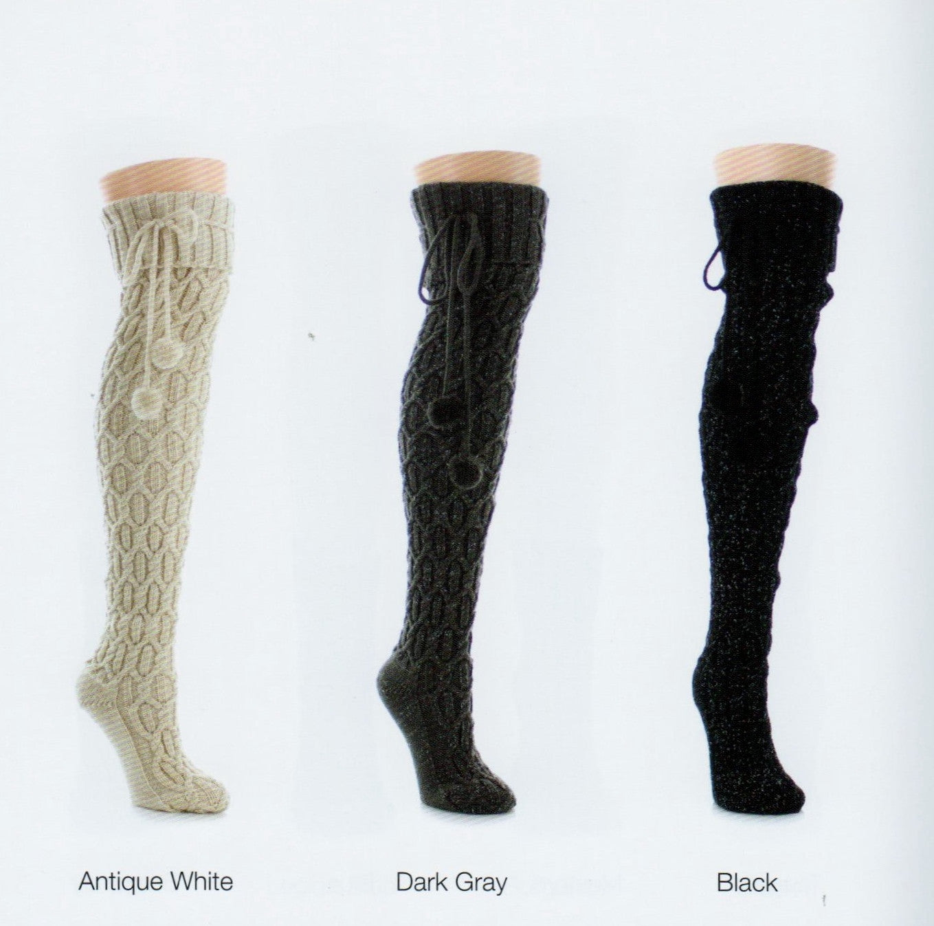 b1e805b6c Legmogue Interdiamond Chunky Knit Over The Knee Sock. Over The Knee Twisted  Cable Knit makes Diamond patterns all the way down this Soft and