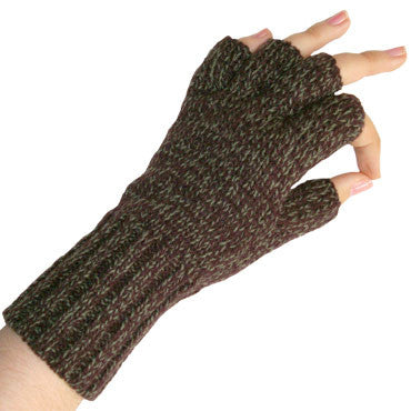 Zazou Working Girl Glove in Forest on a Model Hand.