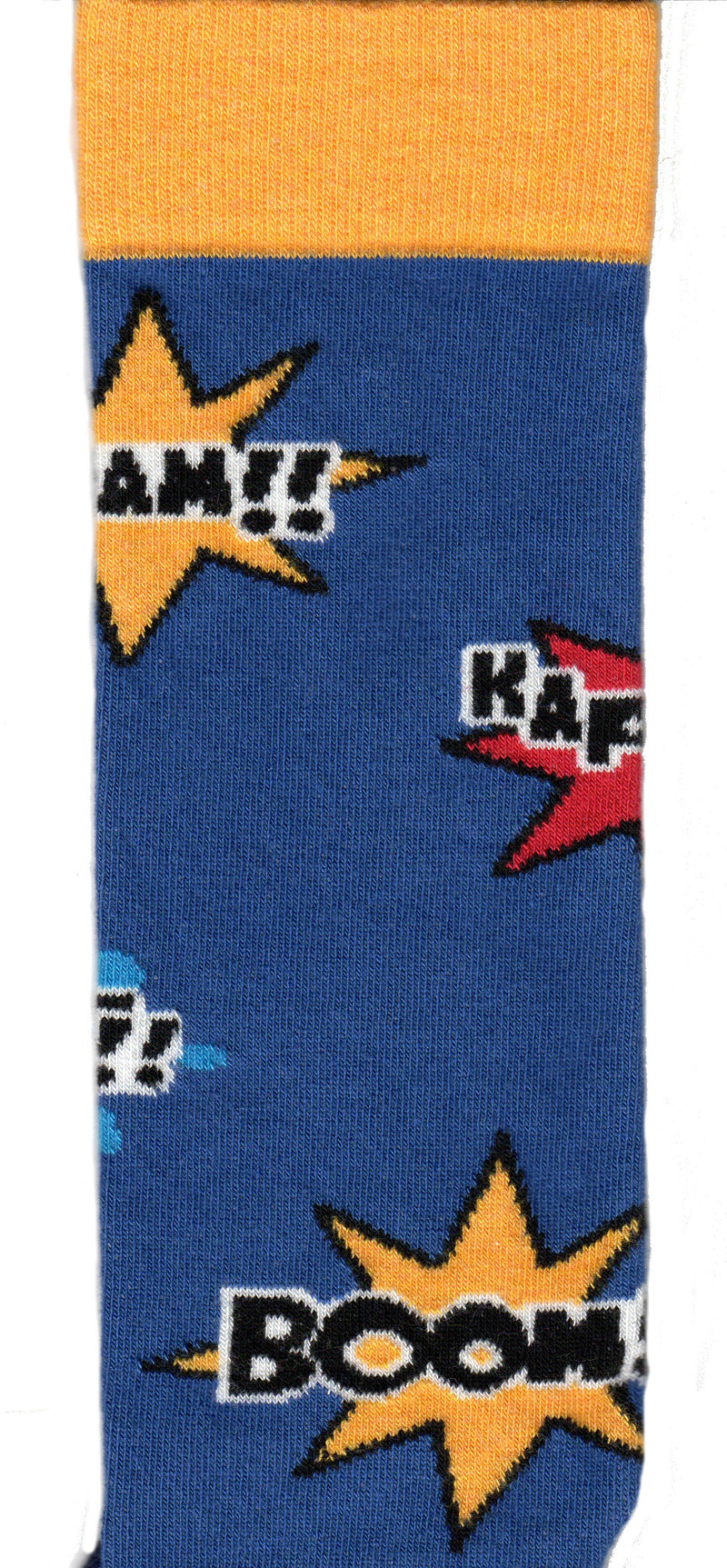 Wright Avenue Mens Super Hero correct color sock