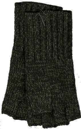 Zazou Working Girl Fingerless Gloves in Forest.