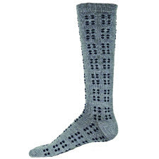 b.ella Nice Mens Dots Compression Socks are soft and Cozy with Merino Wool Blend. They are Grey with Black Dots in Sets of 4 then Sets of 8.