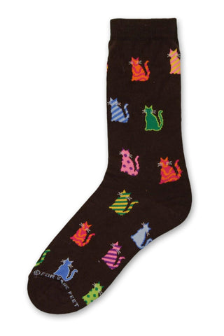 Retro Cats by FBF should put you back into Peter Max Style of the 1960's in poses of fun colors and geometric
