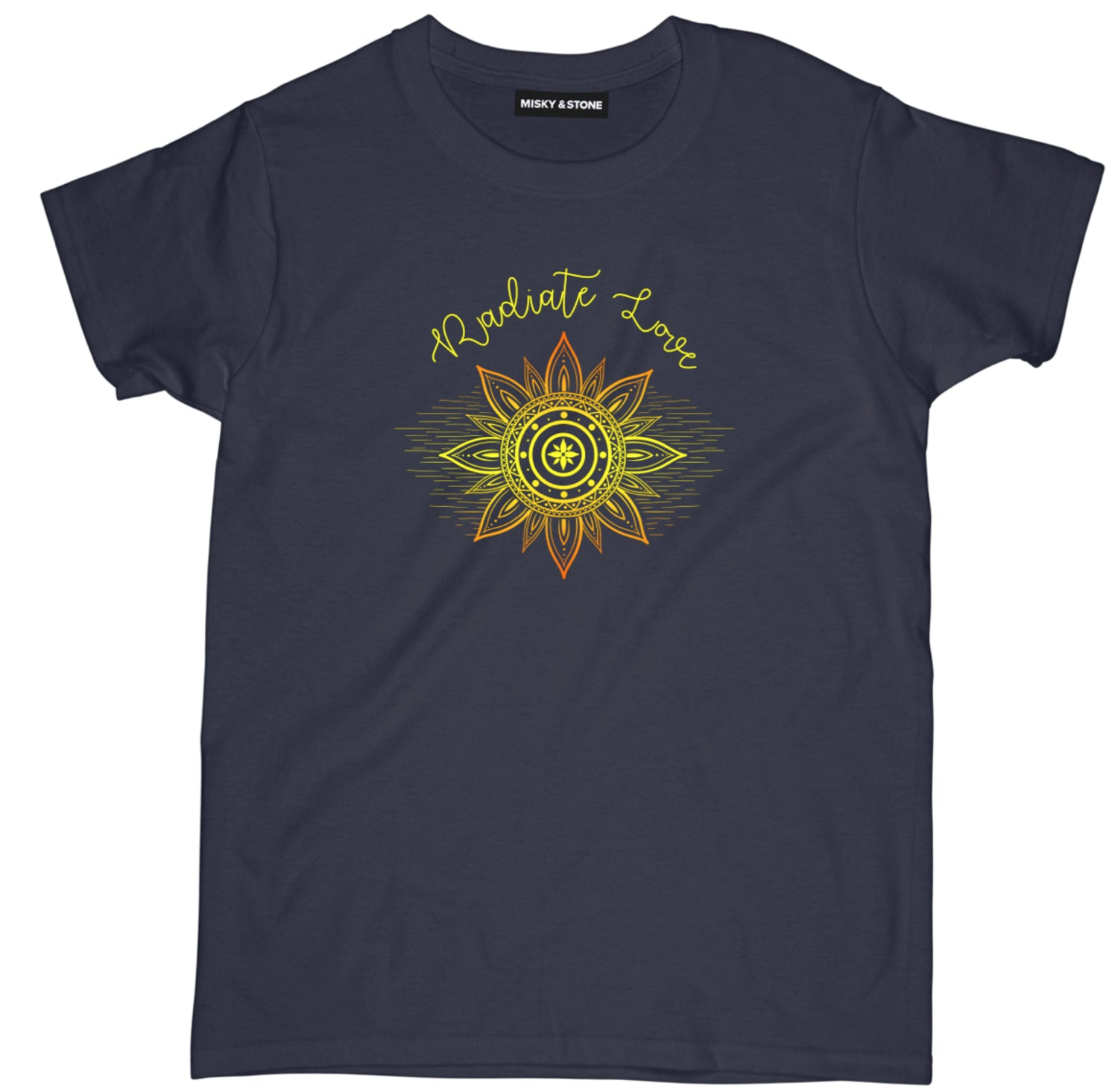 Radiate Love Womens Meditation Tee Shirt
