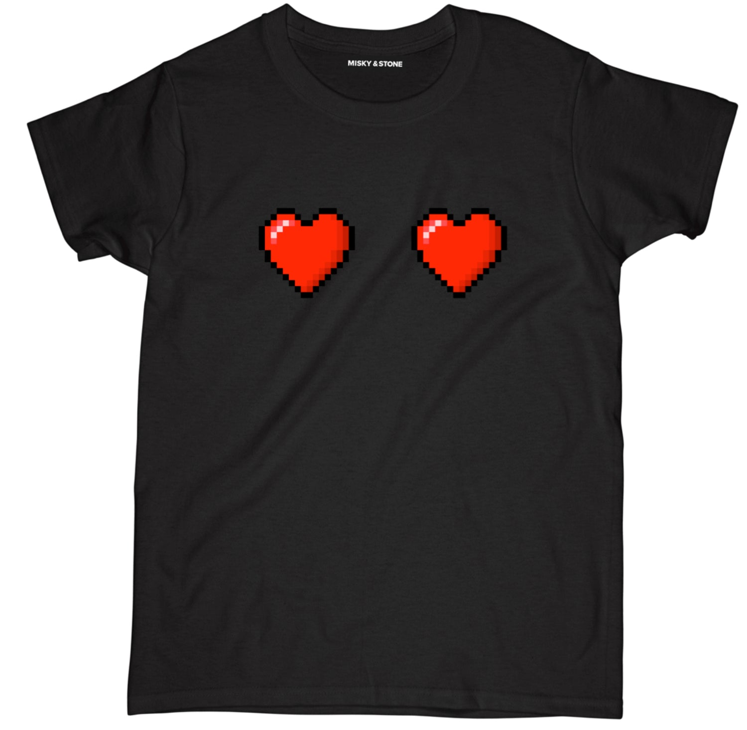 Pixel Hearts Tee Shirt