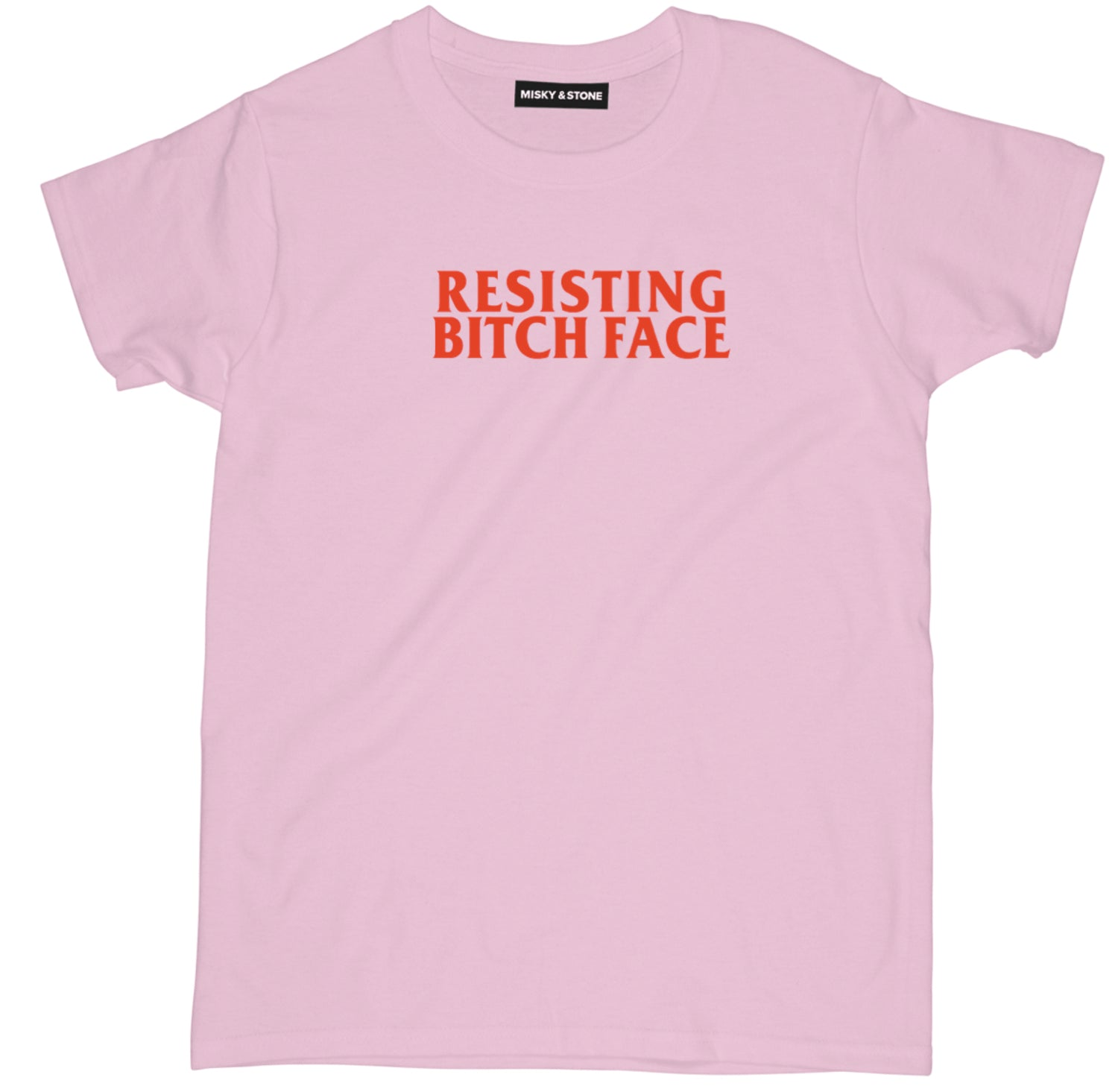 Resisting Bitch Face Tee Shirt