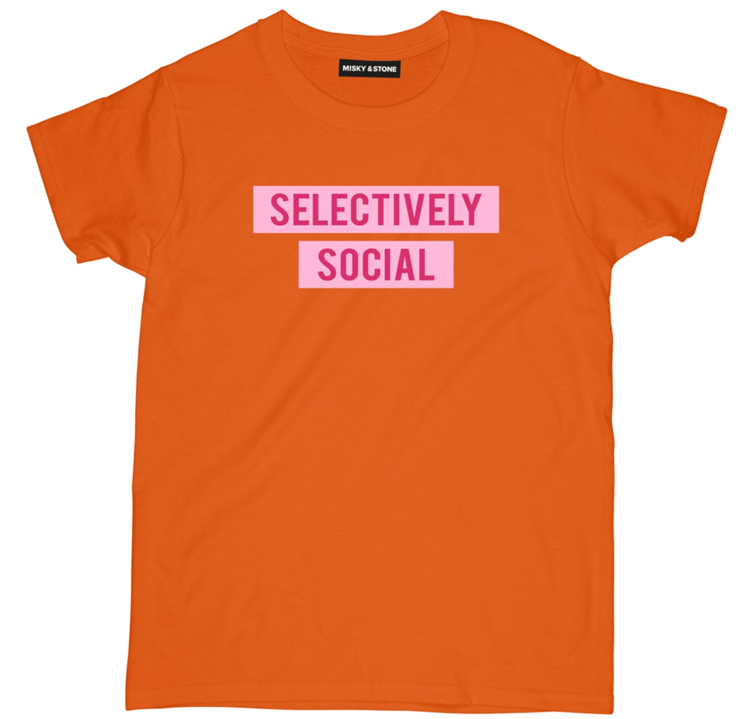 Selectively Social Tee