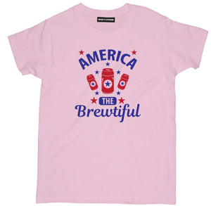 america the brewtiful t shirt, beer shirts, funny beer shirts, beer tees, beer tee shirts, funny beer t shirts, drinking shirts, alcohol shirts, funny drinking shirts, brewery t shirts,