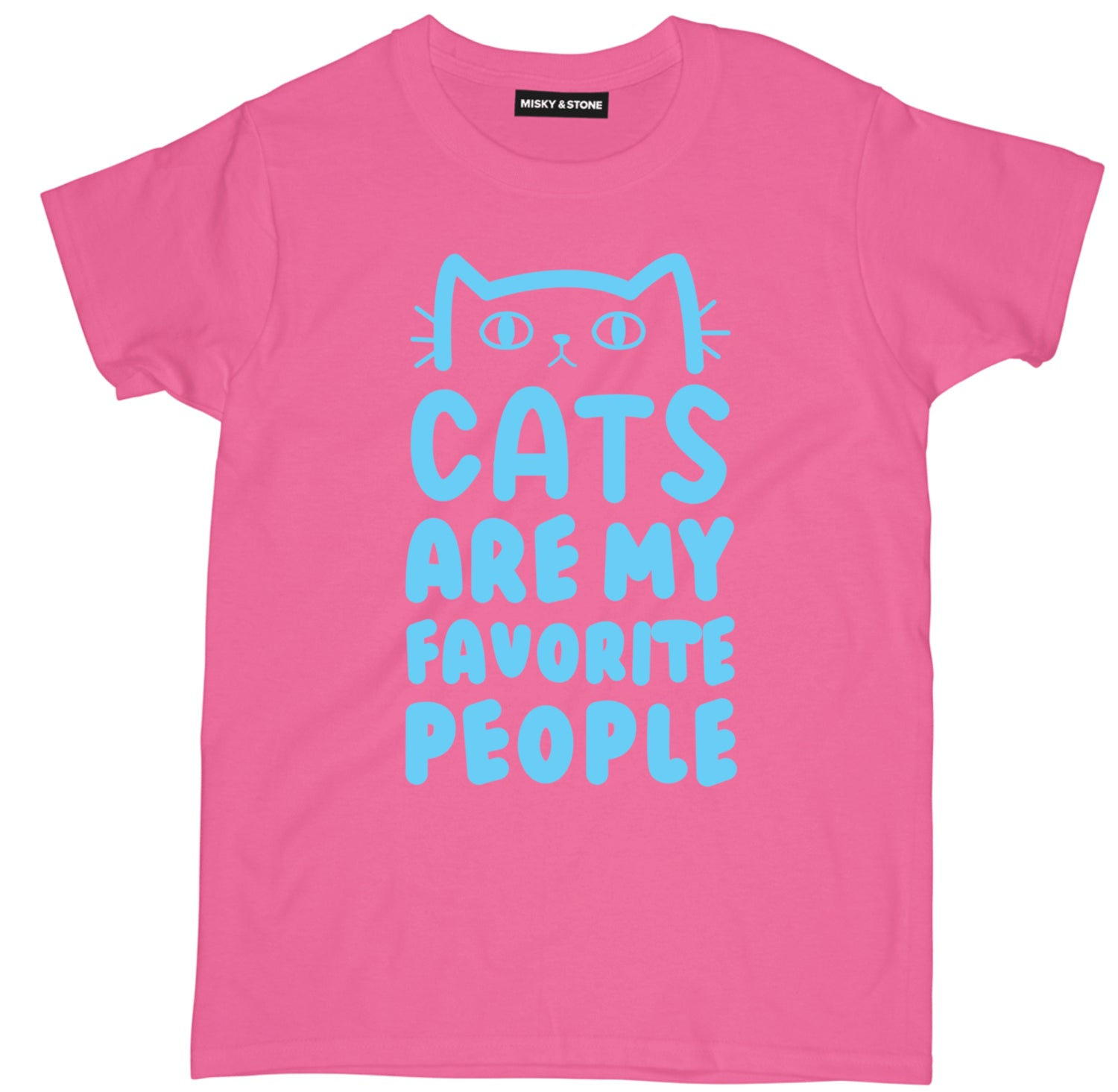 Cats Are My Favorite People Tee